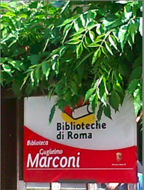 ingresso biblioteca Marconi